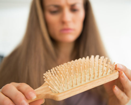 The treatment of hair loss in women