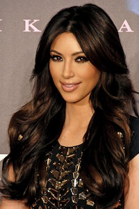 Is Kim Kardashian the latest celebrity hair loss victim?
