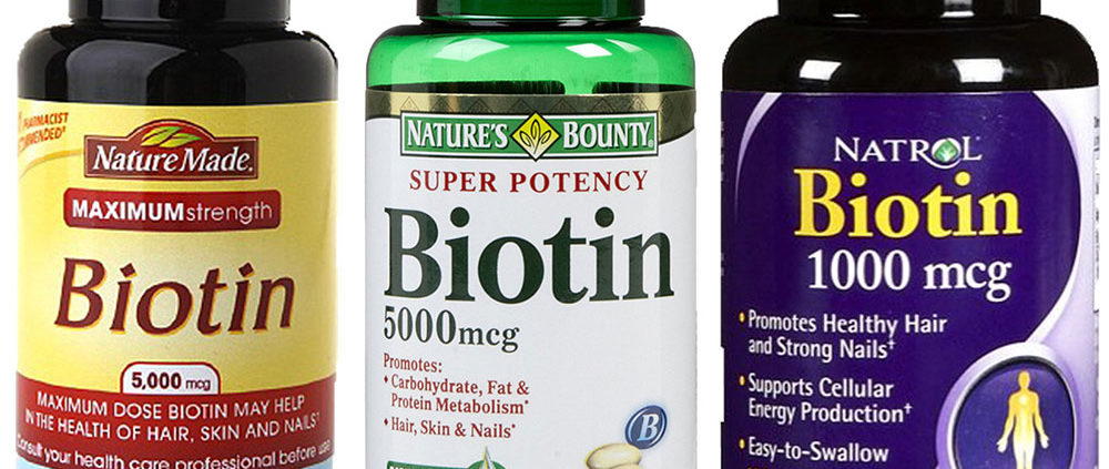 Biotin is needed for hair loss